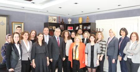 Çalışma Grubu Üyelerimizin TİTCK Başkanı Dr. Hakkı Gürsöz Ziyareti
